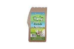 Tuti Party Bio kés, 10 db