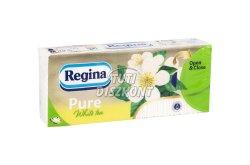 Regina papírzsebkendő 3r.90lap White tea, 90 lap