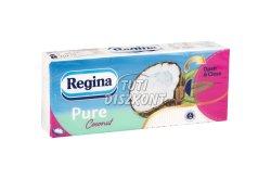 Regina papírzsebkendő 3r.90lap Coconut, 90 lap