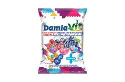 Damla VIT töltött puhakaramell gyümölcs ízű vitaminokkal, 80 G