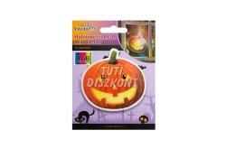 Halloween-i RGB LED dekor öntapadós tök, 1 db