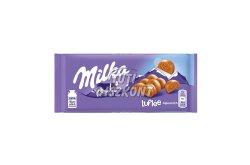 Milka táblás csokoládé Lufflée alpesi X, 100 g